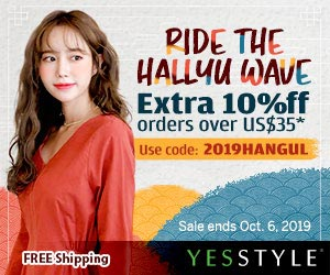 Korean Culture Week Up to 80% OFF + Extra 10% OFF