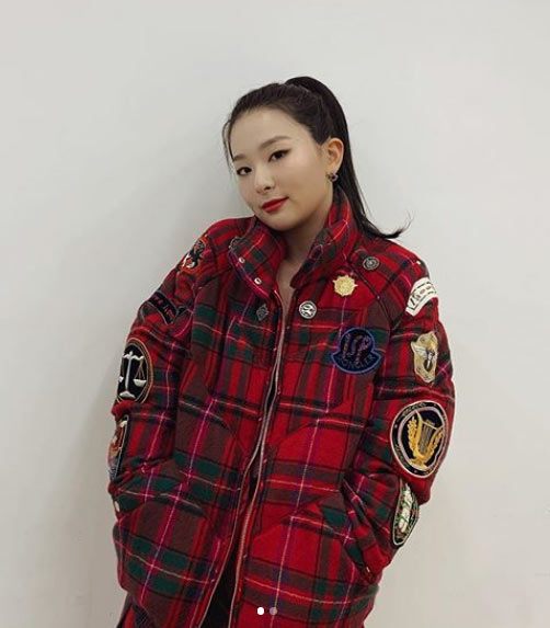 red velvet seulgi badge jacket