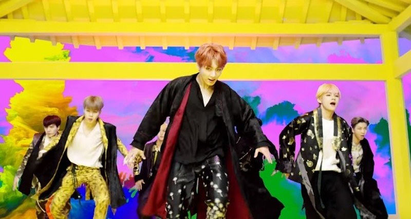 bts 2018 hanbok performance
